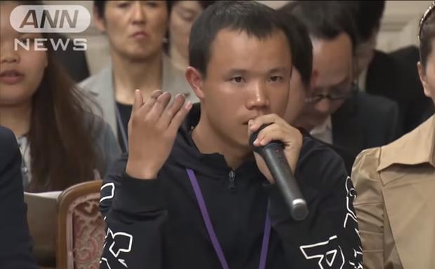 Bài phát biểu đau lòng của nam thực tập sinh làm việc vất vả đến mức cụt 3 ngón tay vẫn bị Nhật trả về nước