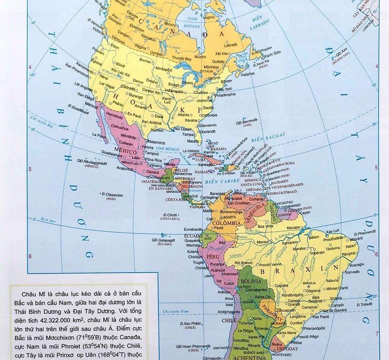 Châu Mỹ gồm những nước nào? Danh sách các nước châu Mỹ đầy đủ nhất