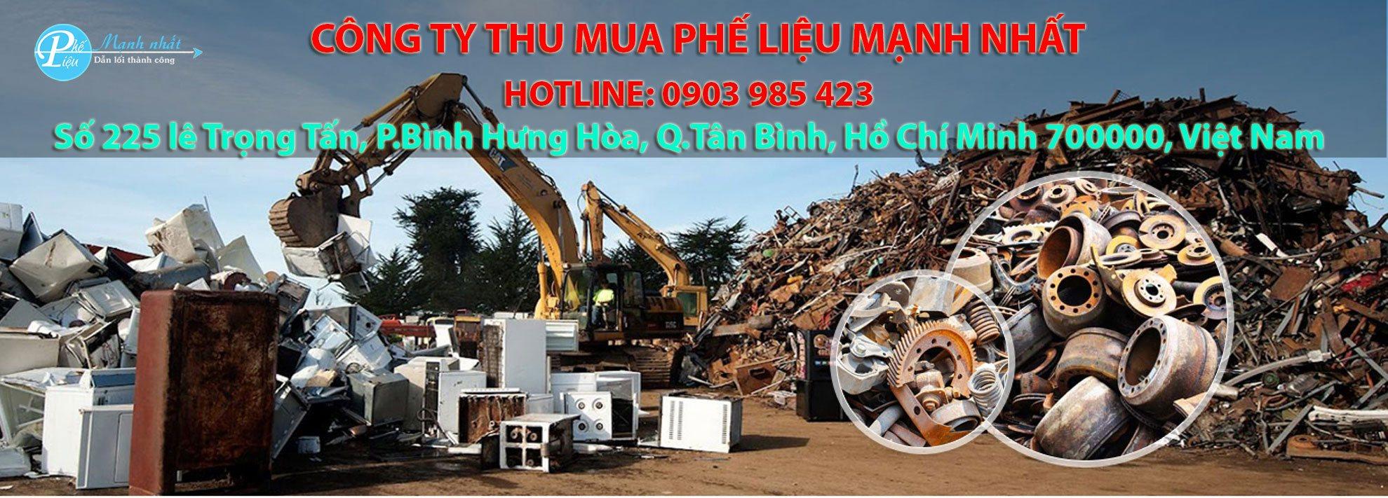 Công ty thu mua phế liệu tại tphcm giá cao Mạnh Nhất
